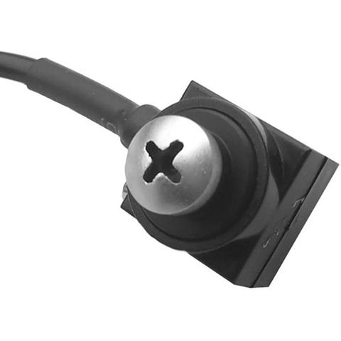 Telecamera di sorveglianza mimetizzata nella testa della vite 480 TVL 3,7 mm CS 800