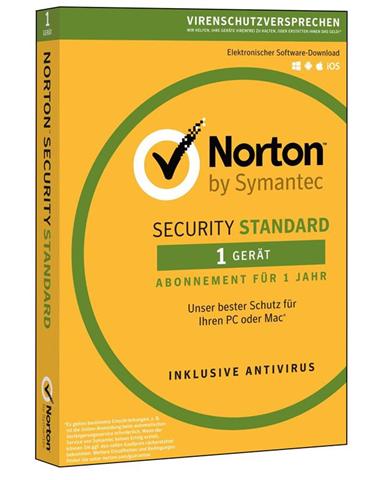 Symantec Norton Security Standard 3.0 Full license 1 1 anno/i Tedesca