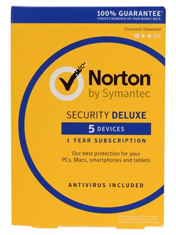 Symantec Norton Security Deluxe 3.0 Full license 1 1 anno/i Tedesca