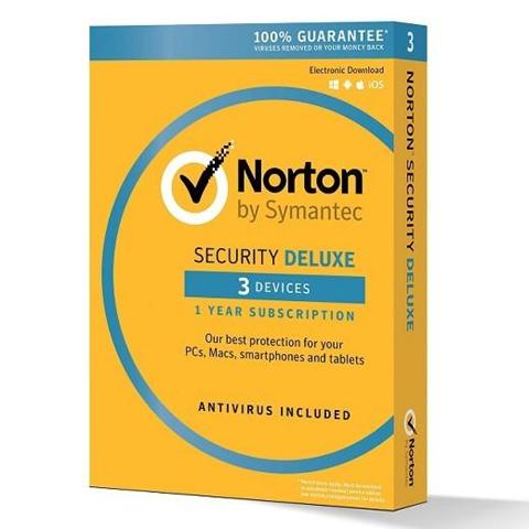 Symantec SOFTWARE NORTON SECURITY DELUXE 3 DISPOSITIVI (21355471)