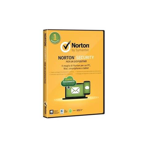 Symantec Norton Security Standard 3.0 Full license 1 licenza/e 1 anno/i ITA