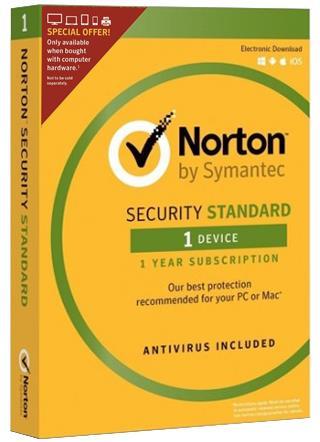 Symantec Norton Security Standard 3.0 Full license 1 licenza/e ITA