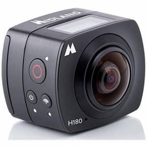 MIDLANDAction Cam H180 Sensore 8 Mpx Full HD Lente Grandangolare 220° Wi-Fi Impermeabile