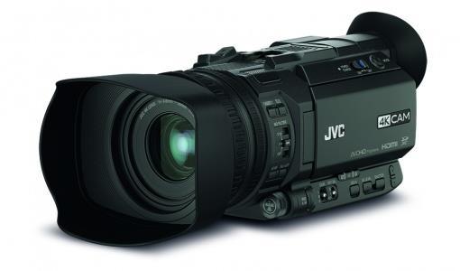 JVC Videocamera palmare JVC GY HM170E CMOS Full HD Nero