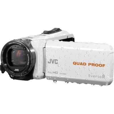 JVC GZ-R435 Videocamera palmare 2.5MP CMOS Full HD Bianco