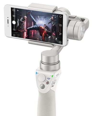 DJI Osmo Mobile Smartphone camera stabilizer Argento