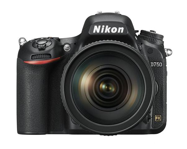 Nikon D750 + AF-S NIKKOR 24-120mm f/4G ED VR Kit fotocamere SLR 24,3 MP CMOS 6016 x 4016 Pixel Nero