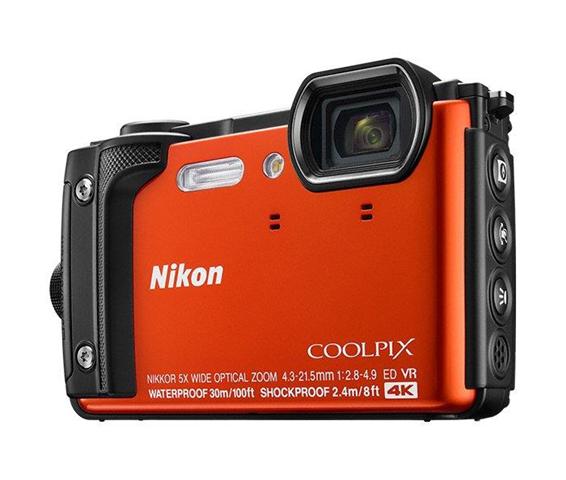 Nikon COOLPIX W300 Fotocamera compatta 16 MP 1/2.3 CMOS 4608 x 3456 Pixel Rosso