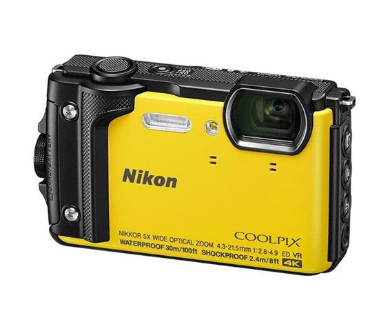 Nikon COOLPIX W300 Fotocamera compatta 16MP 1/2.3 CMOS 4608 x 3456Pixel Giallo