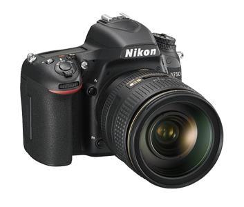 Nikon D750 + AF-S NIKKOR 24-85mm Kit fotocamere SLR 24,3 MP CMOS 6016 x 4016 Pixel Nero