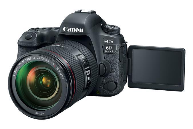 Canon EOS 6D Mark II Kit fotocamere SLR 26.2MP CMOS 6240 x 4160Pixel Nero
