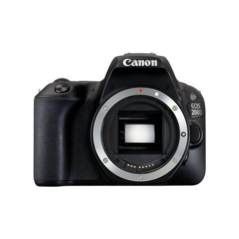 Canon EOS 200D Corpo della fotocamera SLR 24.2MP CMOS 6000 x 4000Pixel Nero