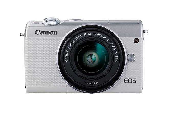 Canon EOS M100 Kit fotocamere SLR 24,2 MP CMOS 6000 x 4000 Pixel Bianco