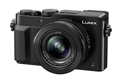 Panasonic Fotocamera compatta Panasonic Lumix DmC Lx100 Eg K Nero