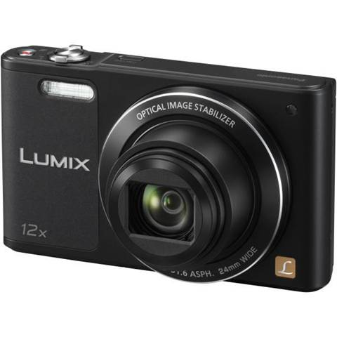 Panasonic Fotocamera compatta Panasonic Sz10 Lumix Nero