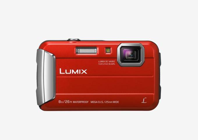 Panasonic Lumix DMC-FT30 Fotocamera compatta 16.1MP 1/2.33 MOS 4608 x 3456Pixel Rosso