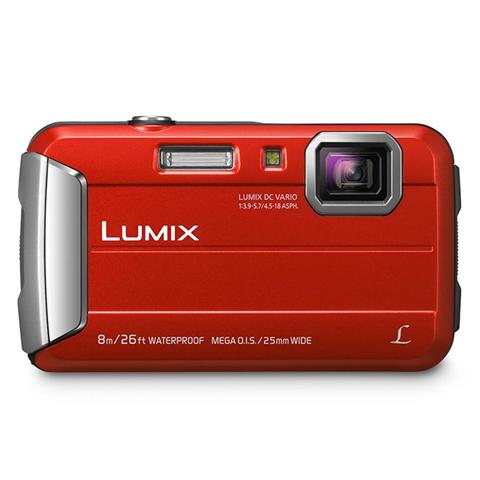 Panasonic DMC-FT30 Fotocamera compatta 16.1MP 1/2.33 CCD 4608 x 3456Pixel Rosso