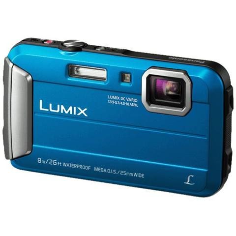 Panasonic Lumix DMC-FT30 Fotocamera compatta 16.1MP 1/2.33 CCD 4608 x 3456Pixel Blu