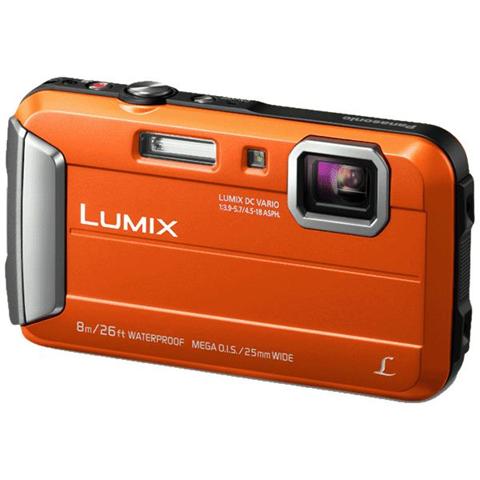 Panasonic Lumix DMC-FT30 Fotocamera compatta 16.1MP 1/2.33 CCD 4608 x 3456Pixel Arancione