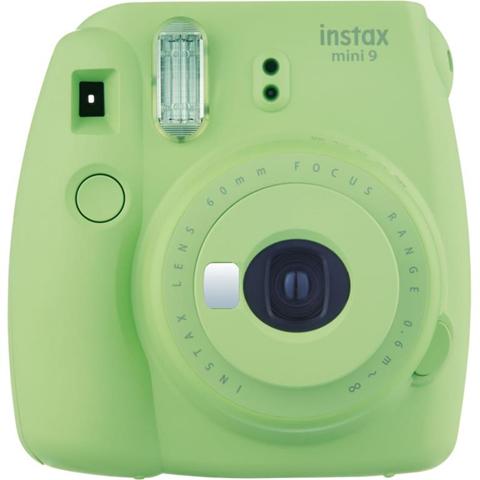 Fujifilm Instax Mini 9 + 10 instant picture film 62 x 46mm Verde fotocamera a stampa istantanea