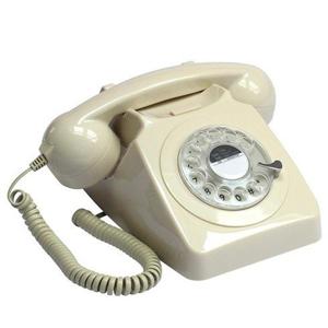 Telefono Vintage Gpo 746 Rotary Ivory