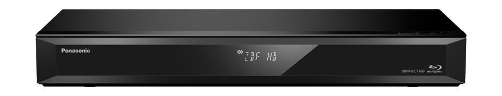 Panasonic DMR-BCT760/5 Nero videoregistratori virtuali