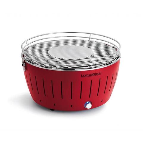 Barbecue A Carbonella Da Tavolo Piccolo Rosso 34Cm