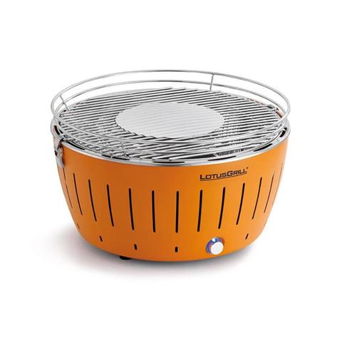 Barbecue A Carbonella Da Tavolo Piccolo Arancio 34Cm