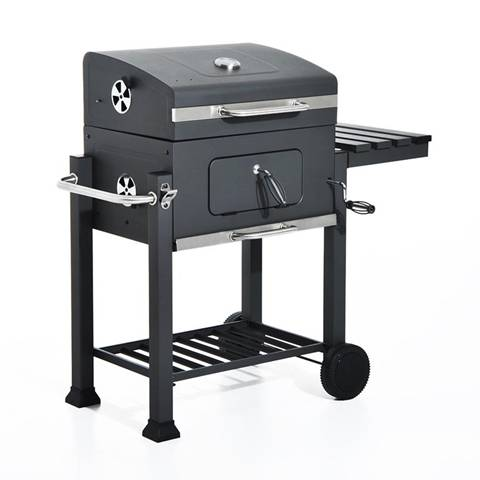 Barbecue A Carbonella Con Coperchio, 115X56X108Cm