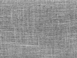 Letto matrimoniale moderno in tessuto grigio chiaro - 180x200cm - VALBONNE
