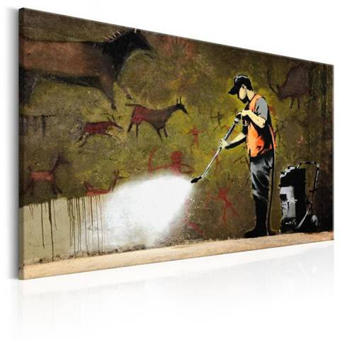 Quadro Cave Painting by Banksy