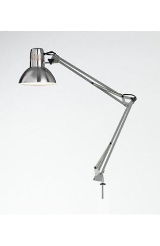 Lampada Da Tavolo Modello Architetto Colore Cromo Spazzolato. Misure H. 74 Cm. 1Xe27 Max. 60W. Lampada Modello Perenz