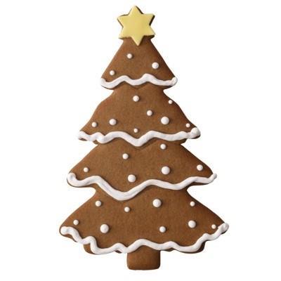 Tagliabiscotti albero di Natale XXL cm 19