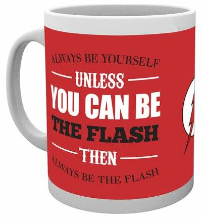 Tazza The Flash. Be Yourself