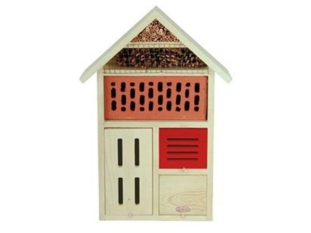 Casetta A Condominio In Legno Per Insetti Coccinelle Farfalle Api