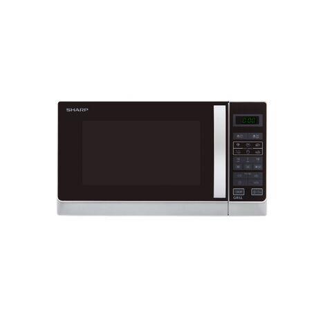 Sharp Home Appliances R742INW forno a microonde Superficie piana Microonde combinato 25 L 900 W Argento