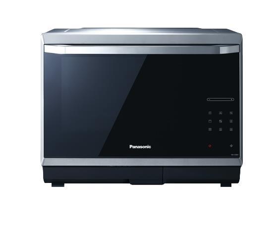 Panasonic NN-CS894S Piano di lavoro Microonde combinato 32 L 1000 W Nero, Acciaio inossidabile