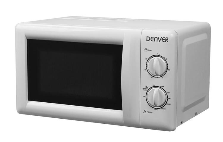 Denver OG-2030 Piano di lavoro Microonde con grill 20 L 700 W Bianco