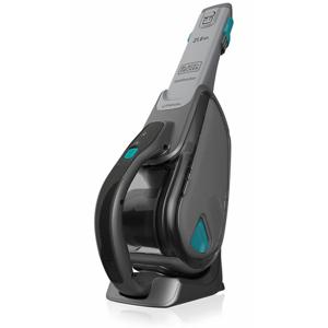 Black & Decker DVJ320B aspiratore portatile Senza sacchetto Titanio, Turchese