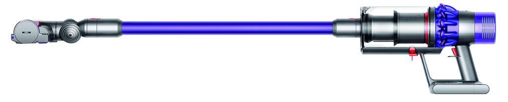 Dyson V10 Animal Senza sacchetto Porpora, Argento 0,76 L