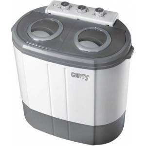 Adler CR 8052 lavatrice Libera installazione Caricamento dall'alto 3 kg Grigio, Bianco