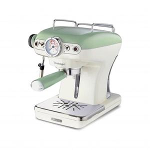 Ariete Vintage. Macchina per caffè espresso manuale, 900 W. Verde