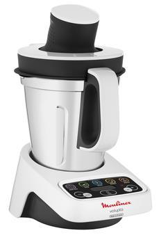 Moulinex HF404113 robot da cucina 3 L Grigio, Bianco 1000 W