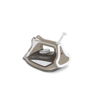 Rowenta Focus Excel Ferro da stiro a secco e a vapore Piastra Microsteam 400 Marrone chiaro, Bianco 2700 W
