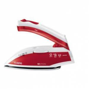 AEG DBT800 Ferro da stiro a secco e a vapore Acciaio inossidabile Rosso, Bianco 800 W