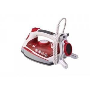 Hoover TIF 2800 Ferro a vapore Ceramica Rosso, Bianco 2800 W