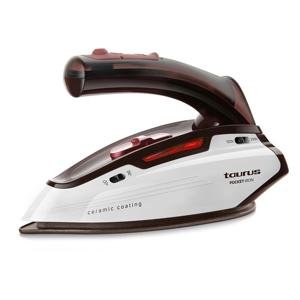 Taurus Pocket Iron Ferro da stiro a secco e a vapore Careeza Rosso, Bianco 1150 W