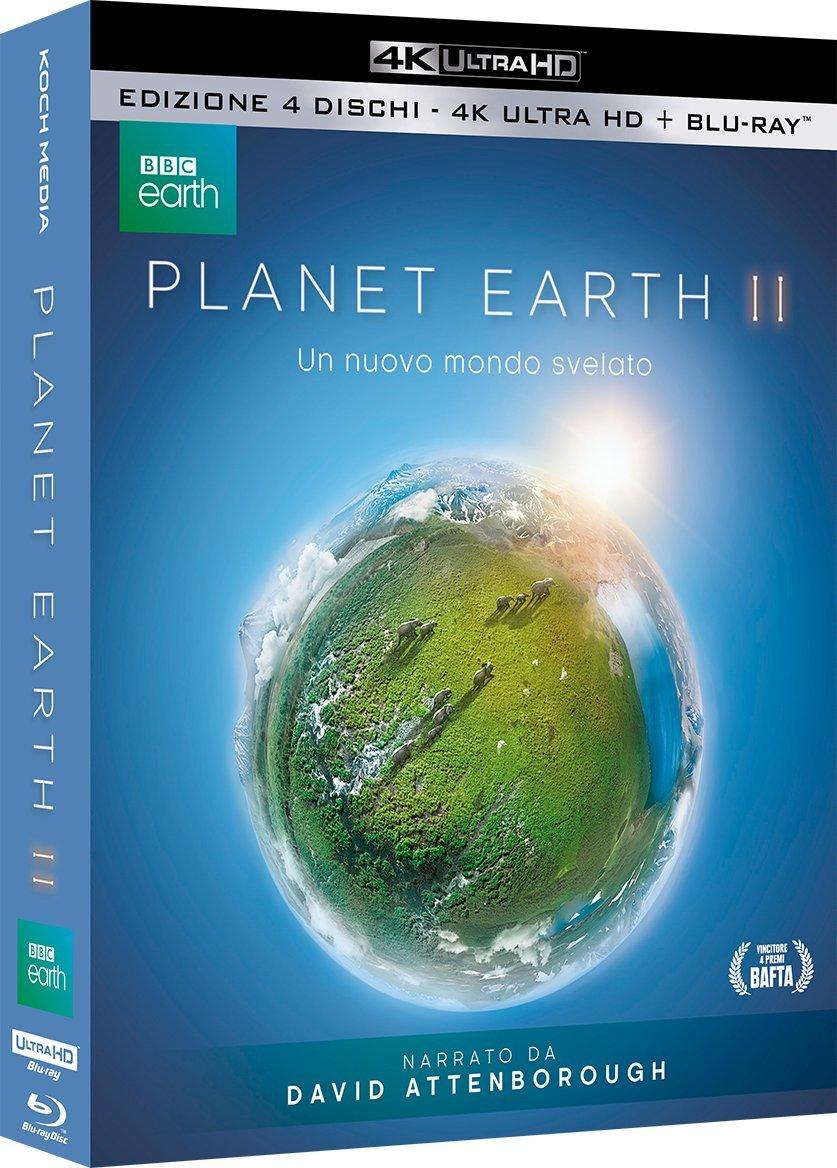 Planet Earth II (2 Blu-ray + 2 Blu-ray 3D)