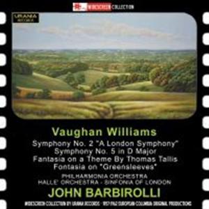 Sinfonie n.2, n.5 Ralph Vaughan Williams;Sir John Barbirolli