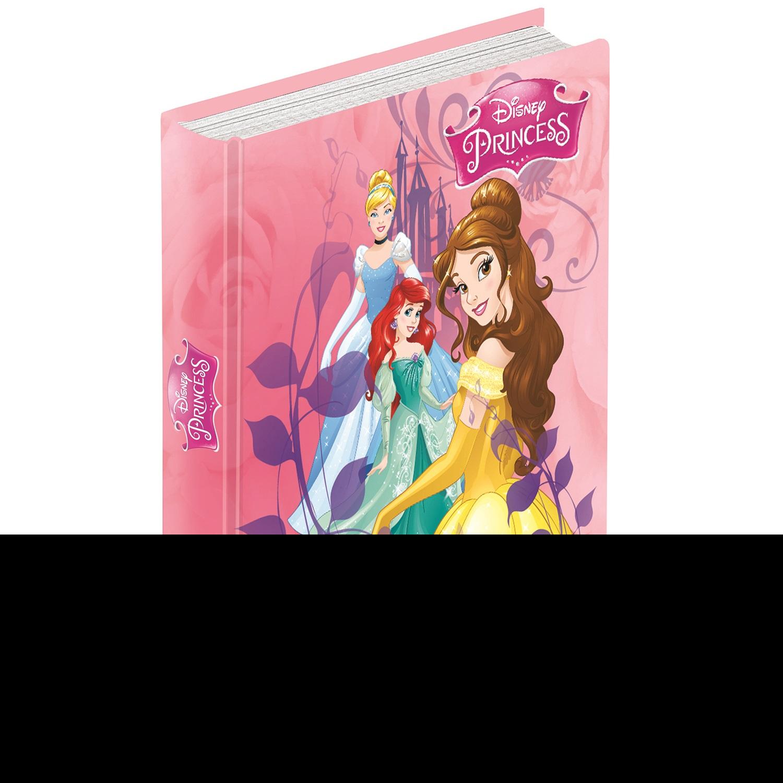 Disney Diario Disney Princess 10 mesi non datato. Belle, Ariel e Cenerentola. Rosa